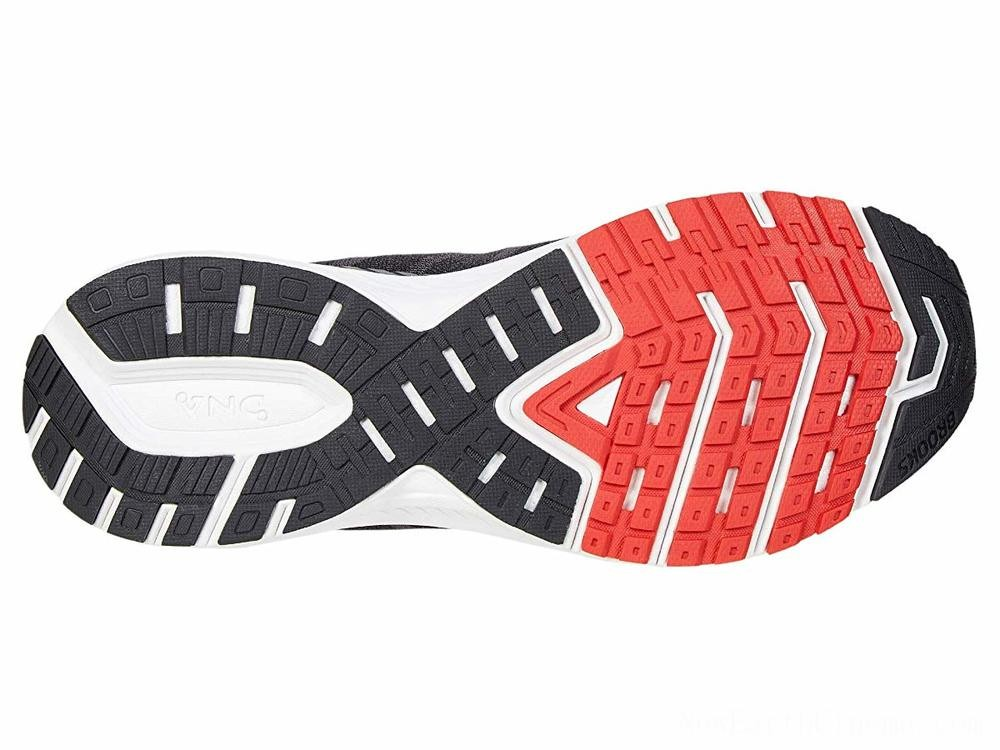 Sales - Brooks Ravenna 10 Ebony/Black/Red