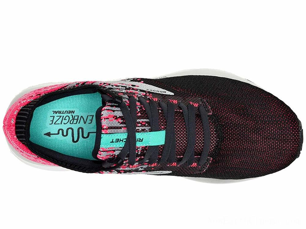 Sales - Brooks Ricochet Pink/Black/Aqua