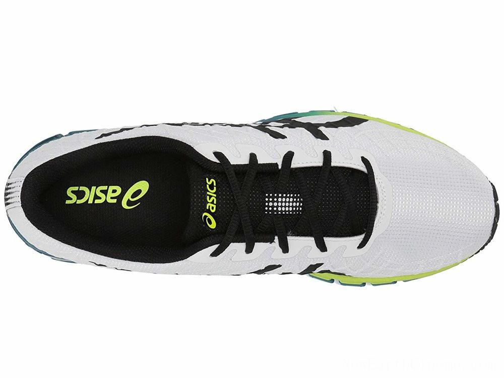 SALE ASICS GEL-Quantum 180 4 White/Safety Yellow