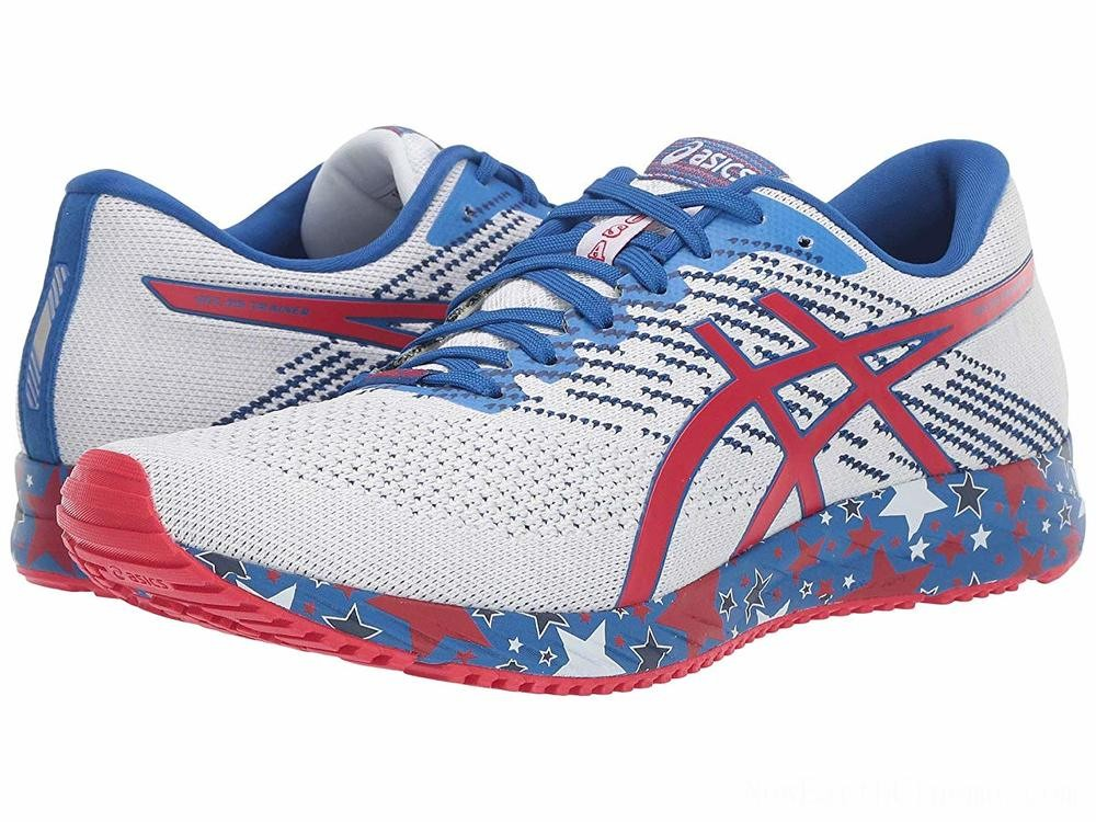 SALE ASICS GEL-DS® Trainer 24 White/Speed Red