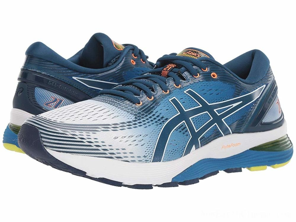 BLACK FRIDAY SALE ASICS GEL-Nimbus® 21 White/Lake Drive