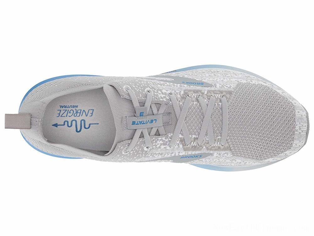 Sales - Brooks Levitate 3 White/Grey/Blue