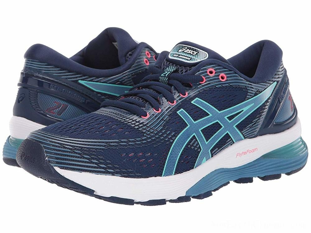 Sales - ASICS GEL-Nimbus® 21 Blue Expanse/Grey Flannel