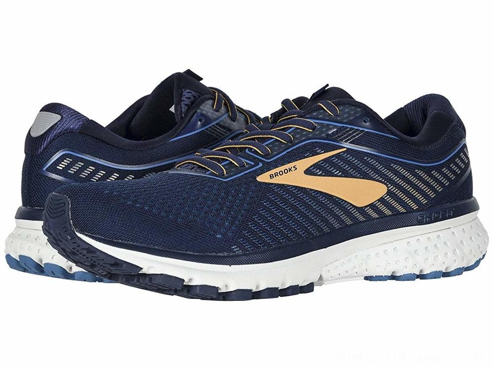 BLACK FRIDAY SALE Brooks Ghost 12 Navy/Deep Water/Gold