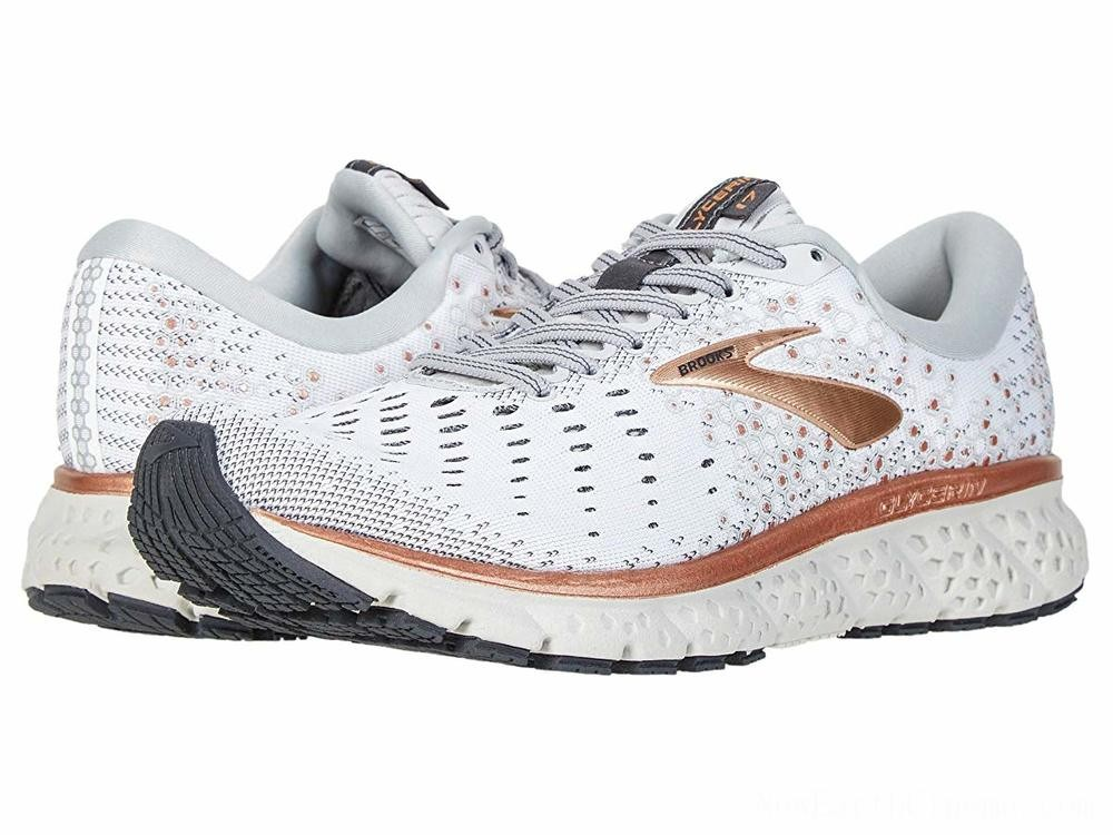 Sales - Brooks Glycerin 17 White/Copper/Grey