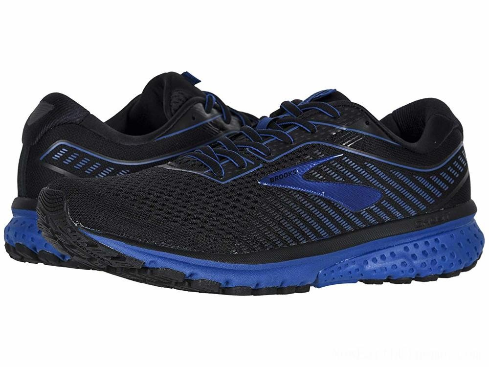 SALE Brooks Ghost 12 Black/True Blue/Black