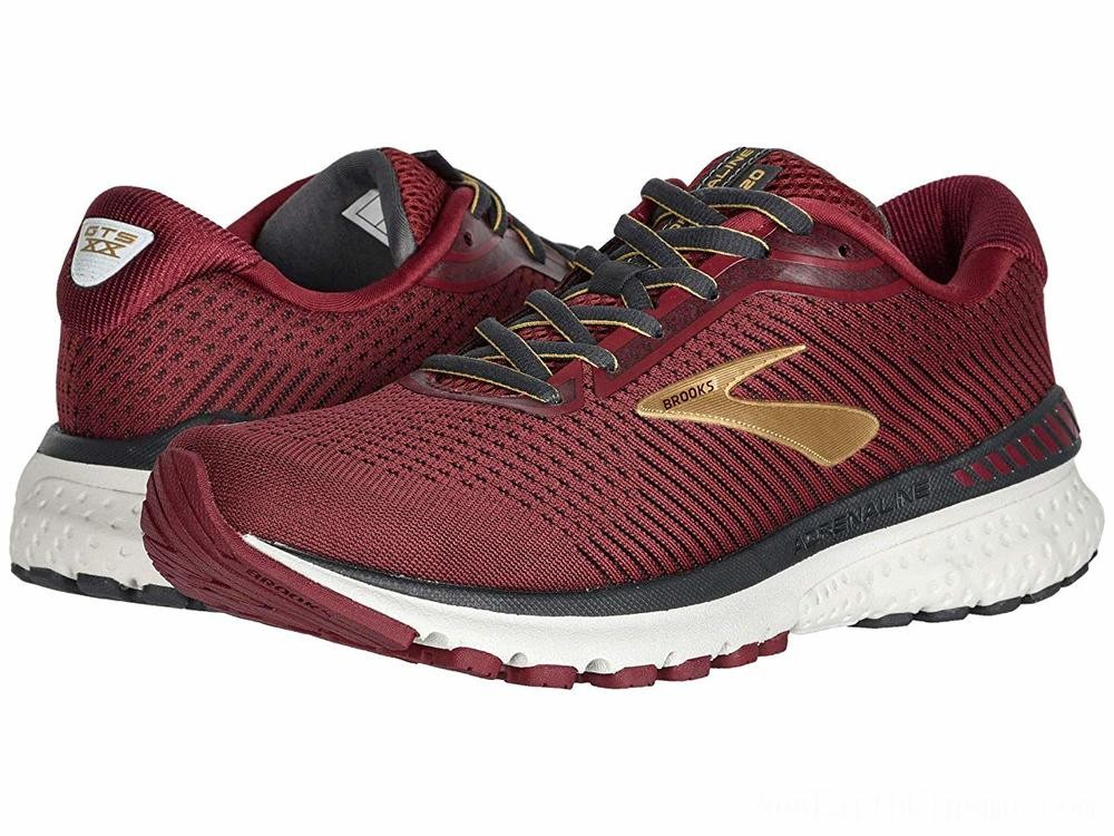 Sales - Brooks Adrenaline GTS 20 Red/Gold/Ebony