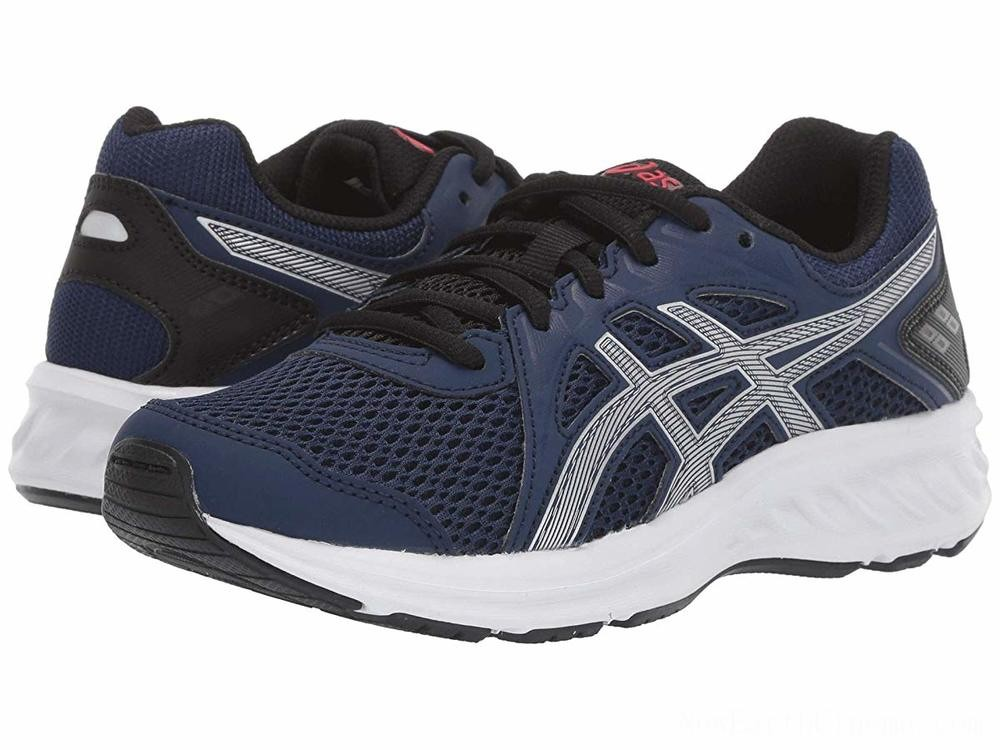 BLACK FRIDAY SALE ASICS Kids Jolt 2 GS (Big Kid) Blue Expanse/Silver