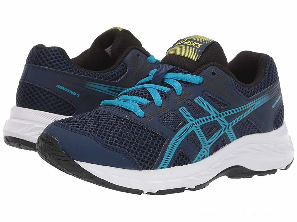 BLACK FRIDAY SALE ASICS Kids Gel-Contend 5 (Big Kid) Blue Expanse/Island