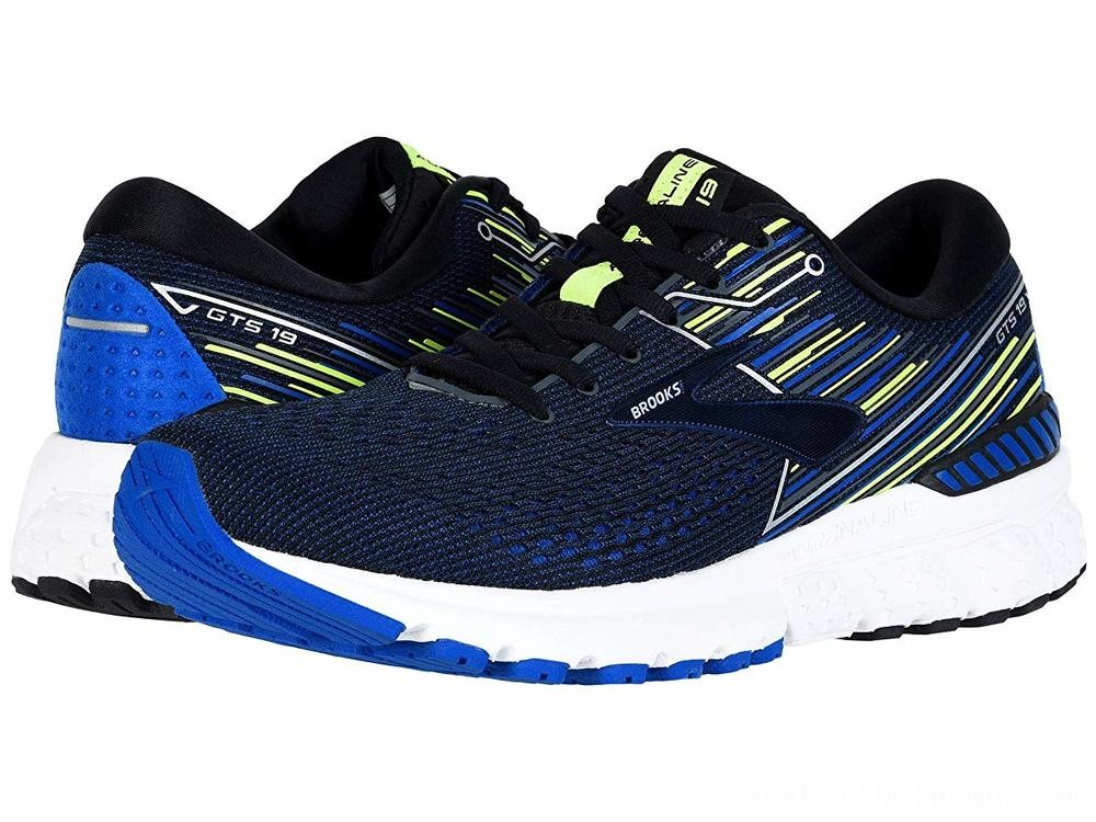 SALE Brooks Adrenaline GTS 19 Black/Blue/Nightlife