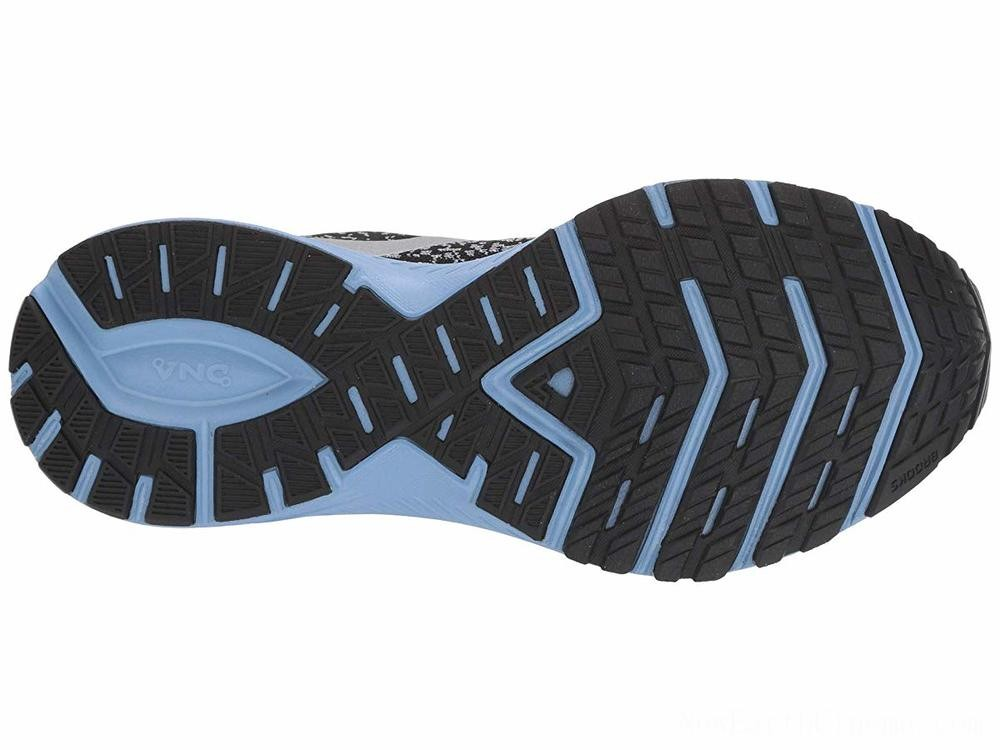 Sales - Brooks Launch 6 Black/Primer/Bel Air Blue