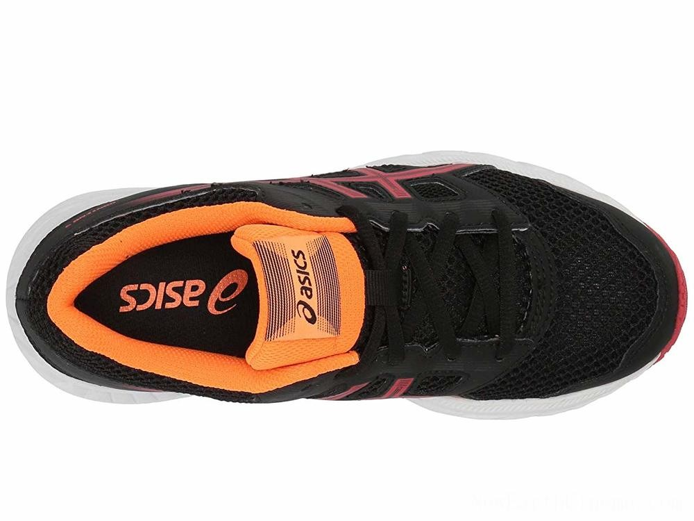 Sales - ASICS Kids Gel-Contend 5 (Big Kid) Black/Speed Red