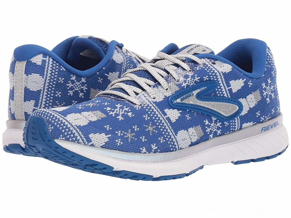 BLACK FRIDAY SALE Brooks Revel 3 Blue/White/Silver