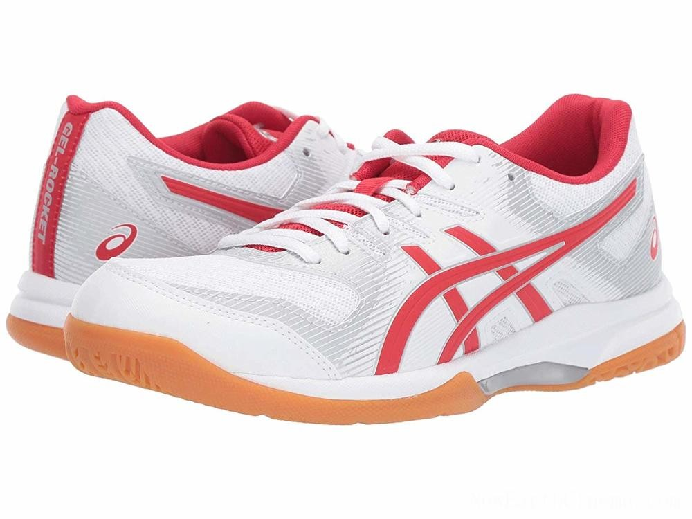 Sales - ASICS GEL-Rocket® 9 White/Classic Red