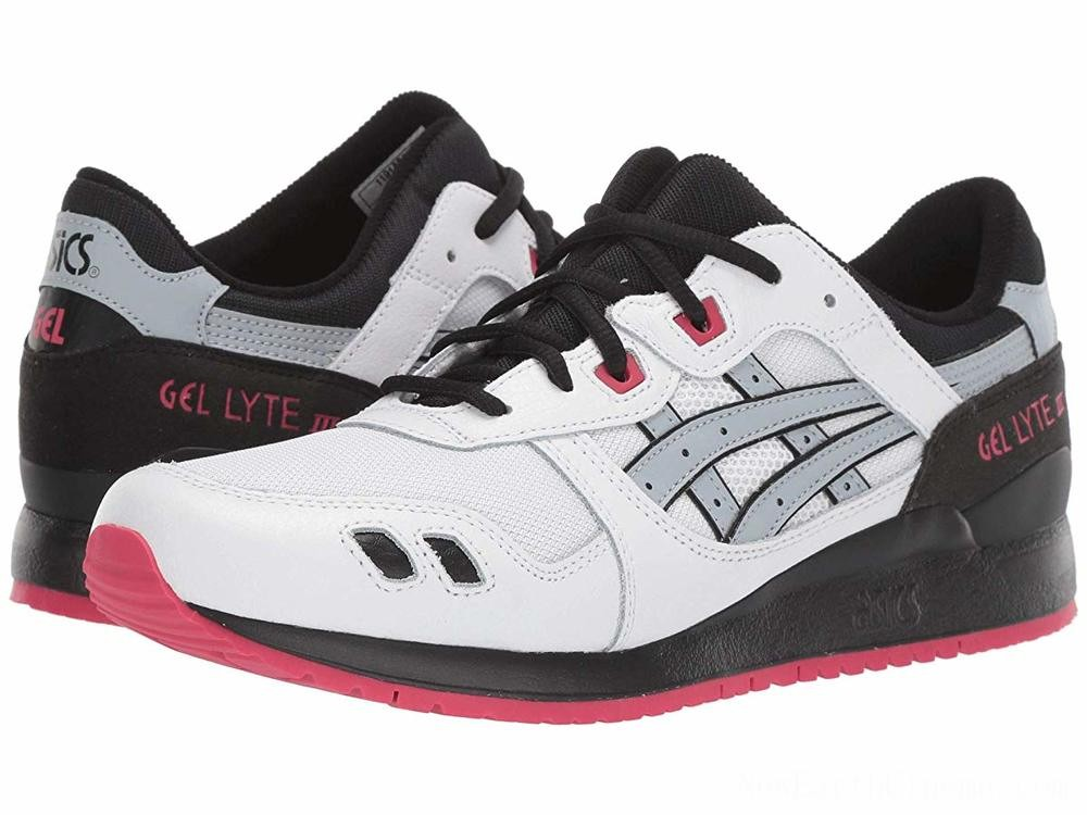 SALE ASICS Tiger Gel-Lyte III White/Piedmont Grey