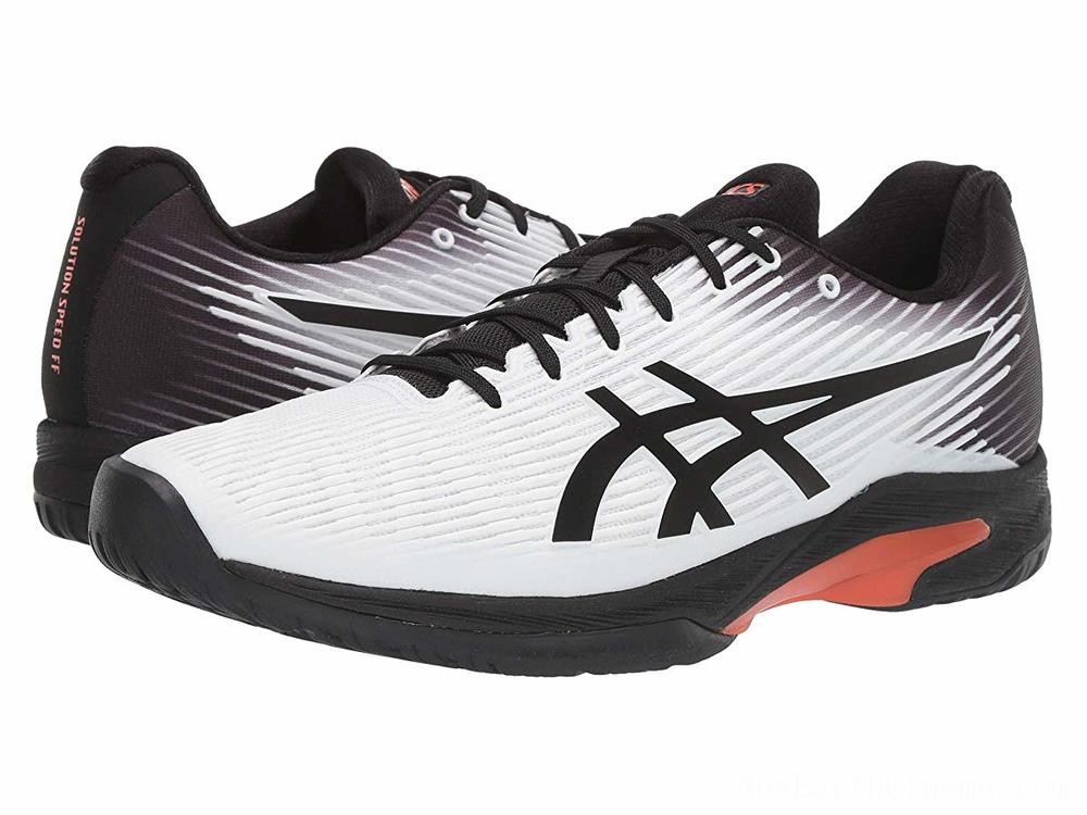 Sales - ASICS Solution Speed FF White/Black
