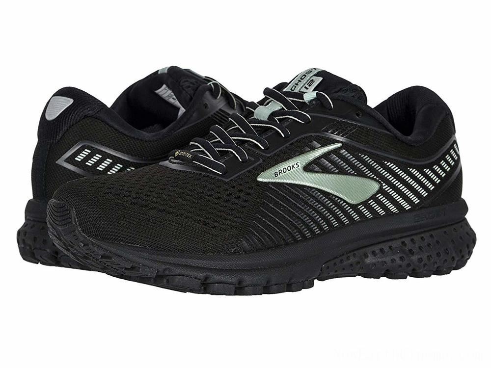 SALE Brooks Ghost 12 GTX Black/Ebony/Aqua