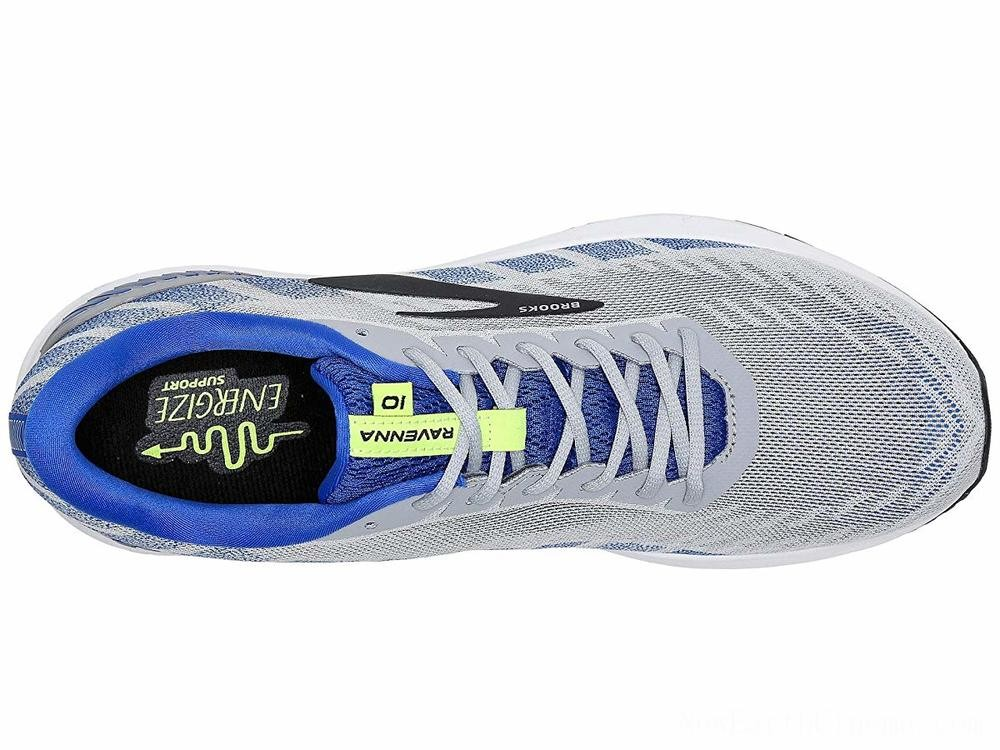 SALE Brooks Ravenna 10 Alloy/Blue/Nightlife