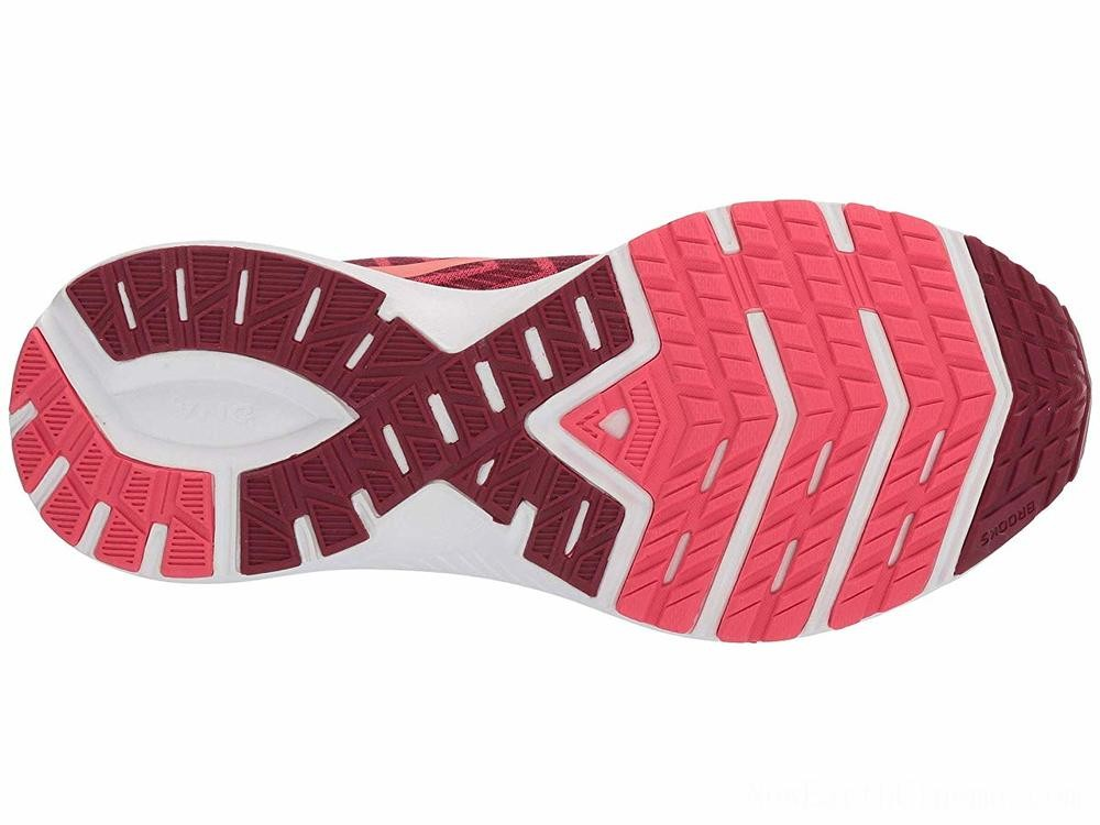 Sales - Brooks Launch 6 Rumba Red/Teaberry/Coral
