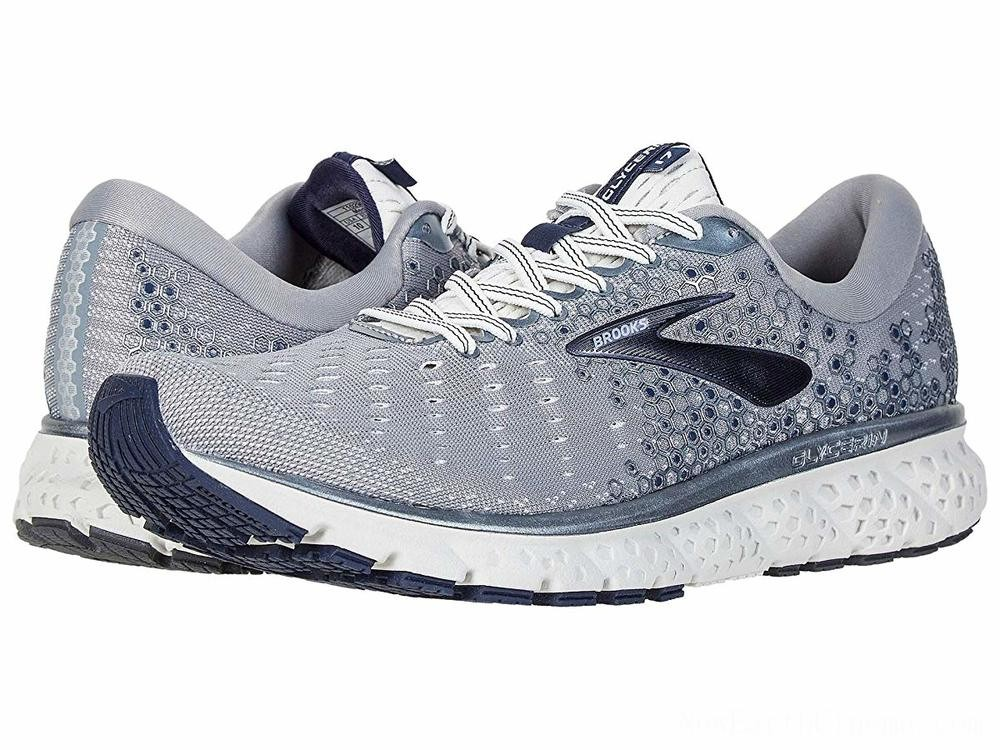 BLACK FRIDAY SALE Brooks Glycerin 17 Grey/Navy/White